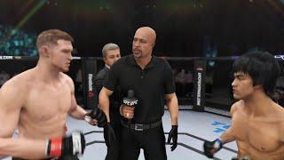 Sam Alvey vs. Bruce Lee (EA sports UFC 3) - CPU vs. CPU
