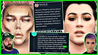 Manny Mua ADMITS To False Copyright Strike, Thomas Halbert COMES FOR Disabled Fan & MORE