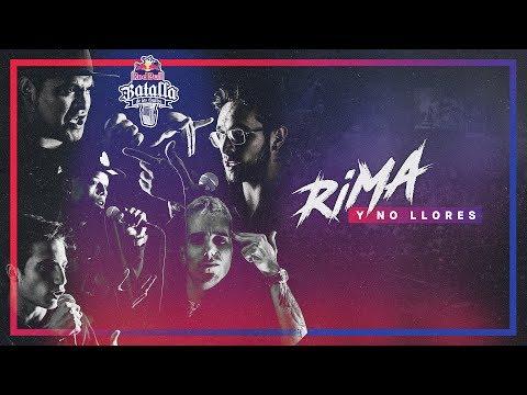 RIMA Y NO LLORES - Red Bull Batalla de los Gallos 2017 (Prod. Cenzi Stilos)