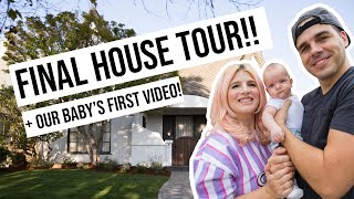 Final House Tour & Our Baby's First Video!   OMG We Bought A House