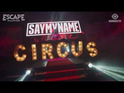 SAYMYNAME for Escape Halloween Virtual Rave-A-Thon (October 30, 2020)