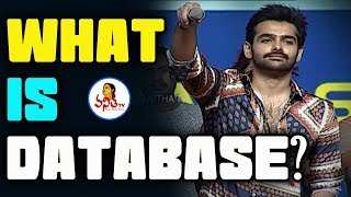 """""""What Is Database"""" Dialogue By Ram At Hello Guru Prema Kosame Pre Release Event    Anupama"""