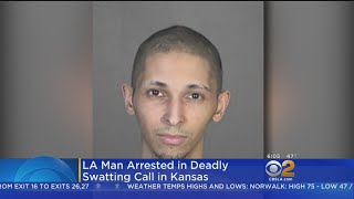 L.A. Man Arrested In Deadly Swatting Call In Kansas