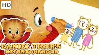 Daniel Tiger 🖍️🌈🖌️ Colour with Me! | Videos for Kids