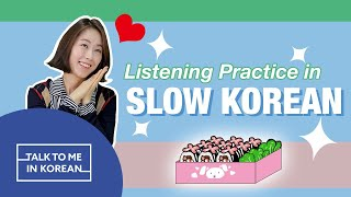 Listening Practice In Slow Korean - Kimbap: Picnic Food (소풍 가면 먹는 음식: 김밥) [한국어 초급 듣기]