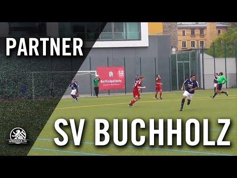 SV Blau-Weiß Berolina Mitte - SV Buchholz (Bezirksliga, Staffel 2) - Spielszenen   SPREEKICK.TV