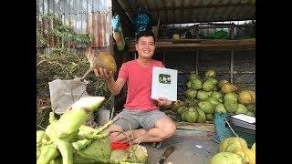 """""""Người bán dừa"""" đầu tiên của Việt Nam nhận nút bạc Youtube, chuyện lạ khó tin?"""
