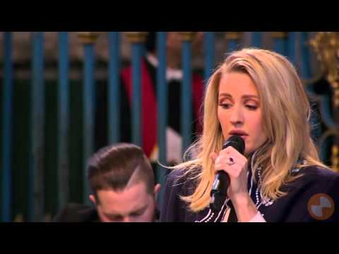Ellie Goulding - Fields of Gold (Performing to the Royal Family at Westminster Abbey, London) HD