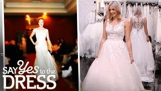 Wedding Dress Model Can't Decide on a Dress   Say Yes To The Dress UK