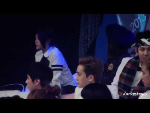 [Fancam] 131229 f(x) Sulli Krystal at SBS Gayo Daejun
