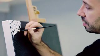 How to paint like Yayoi Kusama | IN THE STUDIO