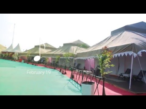 Luxurious Tent City y at Jal Mahotsav