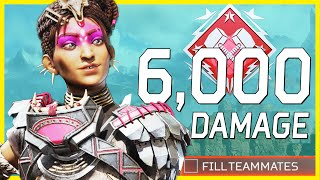 This Feature Helped Me Get 6000 Damage With Rampart In No Fill Solo Squads Game - Apex Legends