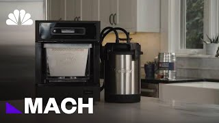This Counter Top Device Could Make Home Brewing Easier And More Compact | Mach | NBC News