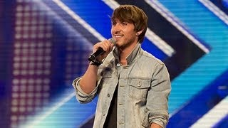 Kye Sones' audition - Swedish House Mafia's Save The World/Rita Ora's RIP - The X Factor UK 2012