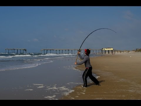What to expect surf fishing at nc outer banks catching for Surf fishing outer banks