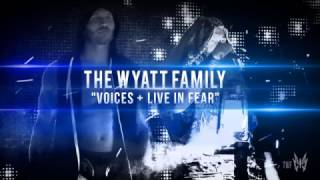 "WWE THE WYATT FAMILY / RANDY ORTON & BRAY WYATT - NEW THEME SONG 2016-2017 - ""VOICES + LIVE IN FEAR"""