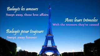 Non, je ne regrette rien (w/ English-French lyrics)