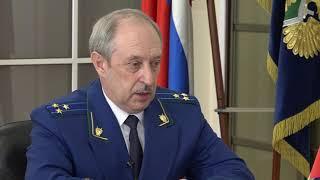 Прокурор Омской области Николай Студеникин дал первое телевизионное интервью телеканалу «Россия 1»