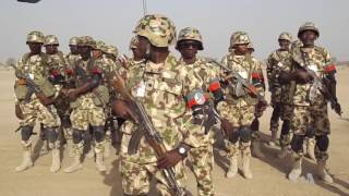 Nigerian Army Holds Drill in Sambisa Forest, Former Boko Haram Stronghold