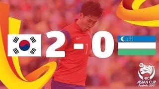 QF1: Korea Republic vs Uzbekistan - AFC Asian Cup Australia 2015