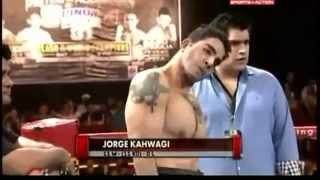 Fixed Boxing Fight Jorge Kahwagi vs Ramon Olivas Full Fight