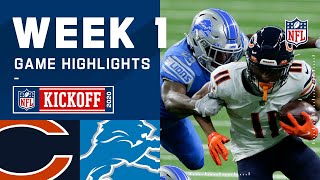 Bears vs. Lions Week 1 Highlights | NFL 2020