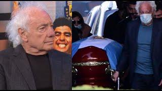 """Guillermo Coppola en la despedida de Diego Maradona: """"Me hicieron sentir familia"""""""