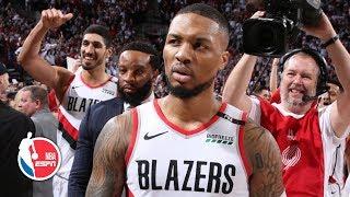 Damian Lillard's game-winning shot sends the Thunder home in Game 5   2019 NBA Playoff Highlights