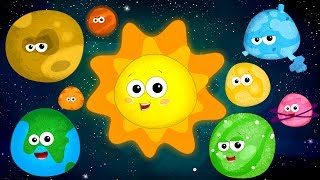 The Planet Song | Learn Planets | Nursery Rhymes | Song For Kids | Baby Rhymes