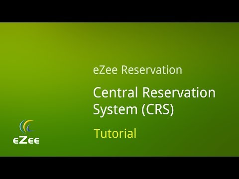 How to Manage Central Reservation System in eZee Reservation, Online Hotel Booking Engine