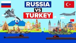 Russia vs Turkey - Who Would Win? (Military / Army Comparison)