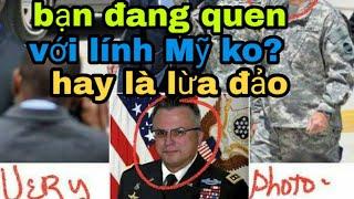 Bạn quen lính Mỹ?