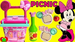 Disney Minnie Mouse Magical Picnic Basket Surprises