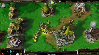 Warcraft III Frozen Throne Tutorial 1 - Invisible Mortar Team Strategy