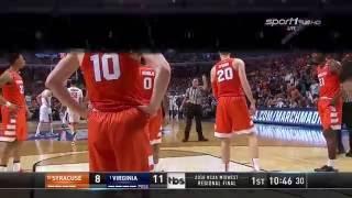 CBB 15/16 Elite 8: MR - #10 Syracuse Orange vs #1 Virginia Cavaliers 03/27/16 (Full Game)