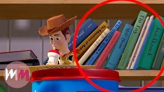Top 10 Hidden Easter Eggs in Pixar Movies