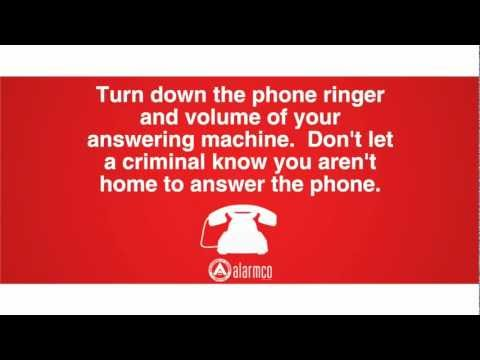 Stay Ahead of the Crime - A Public Service Announcement from Alarmco #3