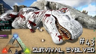 ARK: Survival Evolved - Lvl 120 TREX PERFECT TAME !!! [Ep 44] (Server Gameplay)