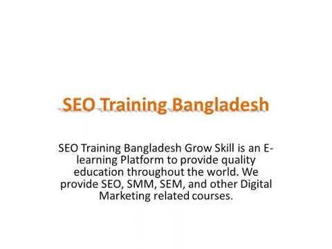 SEO Training Bangladesh