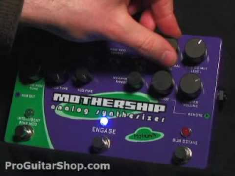 Pigtronix Mothership Analog Guitar Synthesizer