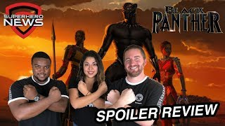 Marvel Studios' Black Panther - Spoiler Review