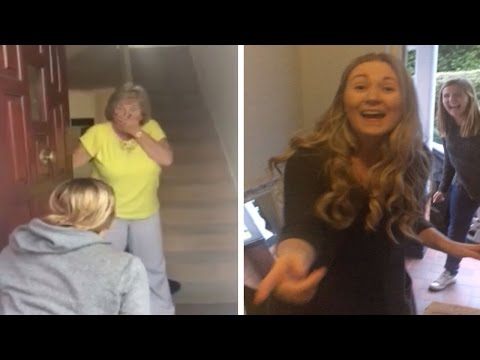 Amazing Family Homecoming Surprise