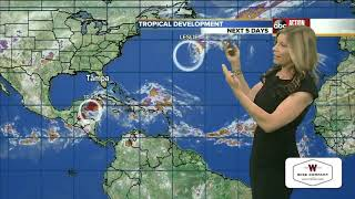 Tropical Depression Fourteen gains strength | Tracking the Tropics