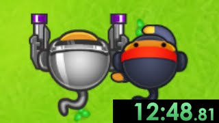 I decided to speedrun Bloons TD 5 and developed an unbeatable strategy