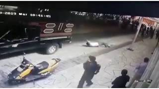 Mexico mayor tied to car and dragged along by angry locals