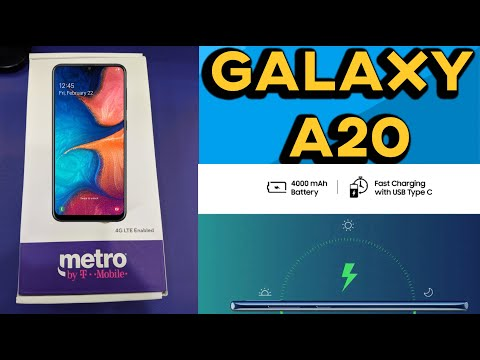 Samsung Galaxy A20 Metro By T-mobile (PRICE,SPECS, RELEASE, FEATURES)