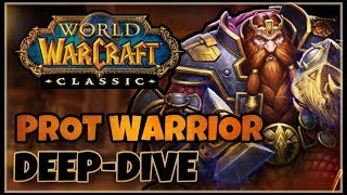 Classic Vanilla WoW PROTECTION Warrior Deep-Dive with Skarm   Classic WoW Prot Warrior Guide