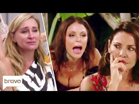 Sonja Morgan Has A Breakdown, Bethenny Lashes Out at Luann | RHONY Highlights (S11 E15)
