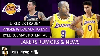 Lakers Rumors: NBA Trade Rumors On Andre Iguodala & JJ Redick + Kyle Kuzma As 6th Man Of The Year?